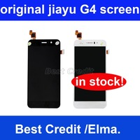 2013 Newest arrival Freeshipping 100% high quality original jiayu G4 touch screen with LCD display screen black white in stock
