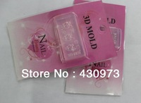 Free Shipping 134  Style for choose 3D Acrylic Flower Decoration Fashion Nail Art 3D Molds Nail Art Template 10pcs/lot
