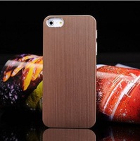 Hot ! New Arrival Luxury Case For iphone 5 Covers Metal back shell 5 colors for choice  Free shipping Drop shipping