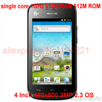 IN STOCK Huawei Y310S  single core 1GHz 512M RAM 512M ROM 4 Inch 480x800 2MP 2.3 OS  Smart Phone