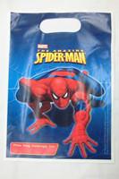Cool   cartoon  boys  spiderman   Birthday Loot bag   , gift Bag            16*22cm
