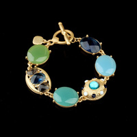 New Styles 2013 Wholesale Fashion Accessories Brief All-match Gem Frindship Bracelet