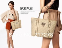 2013 new hot magazine funds women leisure bag khaki