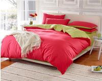 Cotton cotton plain han edition 4 pairs of monochromatic quilt-15