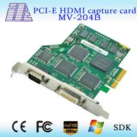 4CH(DVI,HDMI,VGA,YPbPr,CVBS) 1080p/60Hz Capture Card high quality