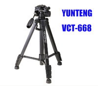 Free Shipping Brand New Professional YUNTENG VCT-668 Tripod for SLR Camera with Carring Bag