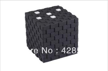 Free shipping High quality Wireless Speaker Magic Cube Stereo Bluetooth Speaker Bluetooth Portable Speaker