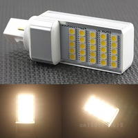NEW G24 5W 25-5050 SMD LED WARM WHITE LIGHT LAMP BULB SCC-18642