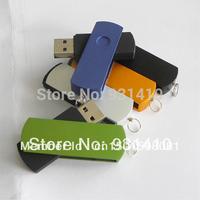 FULL capacity 64GB USB Wholesale - 64GB USB Flash drive   Swivel Metal USB Memory Stick Flash Pen Drive 8GB 16GB 32GB 64GB