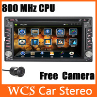 "2 Din In Dash 7"" HD Car Stereo Player DVD Radio GPS 3D Menu Car DVD Vedio, BT,TV, IPOD,DVR IN"