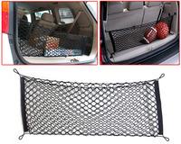Versatile Car SUV hatchback Rear Cargo Trunk Storage Organizer Net plus mounting points for CR-V Tucson Kia - CA00627