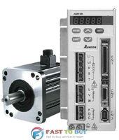 Delta 200W 0.2KW AB Series Servo System Drive and Motor ASD-A0211-AB + ECMA-C30602RS New