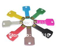 FULL capacity 64GB USB 32GB Metal keyshape pen drives 64GB, FREE shipping -USB Memory Stick Flash Pen Drive 8GB 16GB 32GB 64GB