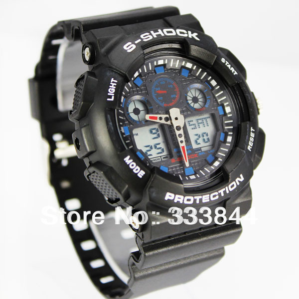 Free shipping 2013 NEW brand watches , Men's sports watch ,Waterproof watches,Fashion watches A1(China (Mainland))