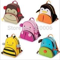 11 Designs Cute Children Cartoon Animal School Bag Quality Oxford Canvas Backpack Baby Boys &Girls Schoolbags Kindergarten Kids