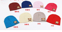 New 2014 lovely panda keep warm Knitted child hats  infant Baby  winter Hat cute boy hats girl caps christmas gift