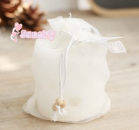 Free shipping for 10/PCS Porous hollow circular candle wedding fashion household smokeless scented candles birthday candles