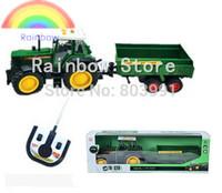 Large remote control tractor dump-car electric remote control tractor farmer car four-way remote control car toy car