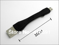 Key Chain Ring Universal Micro USB2.0 Adapter Charger Ultra Short 10cm Mini Data Sync Copper Cable for Samsung S4 S3 Note 2 Sony