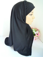 Classic muslim hijab  pure color cotton islamic hijab