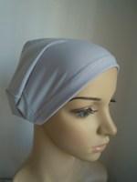 crystal cotton fabric  basic inner cap islamic hijab muslim women's inner hat cotton muslim hijab12pcs/lot