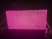 LED scrolling billboard module P10 semi-outdoor pink LED sign  LED board billboard LED display module free shipping