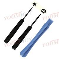 Pentacle Screwdriver + Cross Screwdriver + Suker Repair Tools For iPhone 4/4S/5G 100set/lot