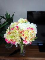 Free shipping artificial flowers silk flowers artificial single hydrangea flower Mediterranean