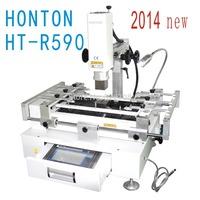 2014 New HT-R590Touch Screen 3 Zones, bga soldering machine, BGA Rework Station 220V white