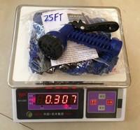 1pcs Expandable Hose 25FT Garden water Hose expandable flexible hose +spray gun