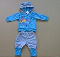 2pcs/set high quality baby clothes set cotton hoodie+pants kids clothes spring/autumn chidren clothes for boys/girls wear