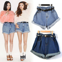 2013 Hot Sale Sexy Ladies Shorts Denim short Jeans Low Waist short Pants hole Style Free Shipping XS S M L XL women shorts