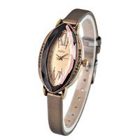 2014 New Women Rhinestones Wrist Watch Quartz Dress Watches Julius Brand Vintage Roma Analog Hours Leather Strap Ladies Clock