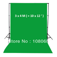 10X12' Chromakey Green Muslin Photo Video Backdrop Background for photo studio, Free shipping Seamless cutton backdrops