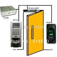Fingerprint Access Control & Time Attendance F18 with 12V5A power supply, magnetic lock, FR1200 fingerprint reader
