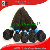 5g grade straight human hair extension 12in to 26in 100g/bundle 3pcs lot 100% indian virgin hair wefts free shipping hair weaves