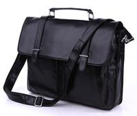 2013 NEW Vintage Tan Leather 4 Use JMD Briefcase Messenger Handbag Shoulder Bag # 7013A-1