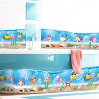 Mixed order Cartoon Sea Fish PVC Wall Sticker ,Wall Decal ,Wallpaper, Room Sticker, House Sticker Free Shipping AM7004