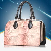 New Fashion brand designer bag PU women handbag women totes bag Hard bag Stone pattern bolso bolsa