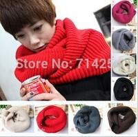New Two laps large multi-purpose wool collar sleeve head scarf  Wholesale