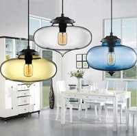 Hot selling Niche modern glass pendant light,Minaret pendant lamp(Dia 27cm*H24cm)