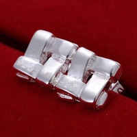 Free Shipping!!Wholesale 925 Silver Earring 925 Silver Fashion Jewelry Groined Shape Earrings SMTE029