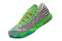 2013 New Wholesale Famous Player Kevin Durant KD V 6 Christmas Men's Sports Basketball Shoes
