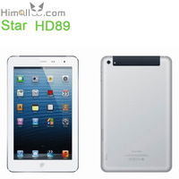 "3G Phone Call Tablet Star HD89 MTK8389 1.2GHz Quad Core Mini Pad 7"" IPS 1280*800 RAM 1GB ROM 16GB Android 4.2 Dual Camera WCDMA"