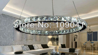 Fashion diy LED pendant light crystal led suspension light fixture free shipping D400mm