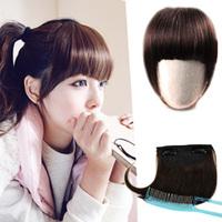 Wig hair bands false fringe bangs real hair qi bangs , hair extension tablets