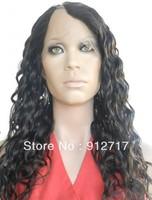 Loose curl brazilian hair u part wig for balck women