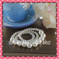 200pcs / lot Pearls Napkin Rings Hotel Wedding Napkin ring Free Shipping
