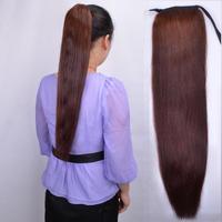 60 90 long dark brown straight hair real hair horseshoers rope young girl horseshoers shunfa
