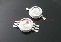 free shipping 50pcs/lot High Power Epistar Chip 3W LED Bulb Diodes Lamp Beads  3w rgb, for 3W 6W 9W 12W LED Spot Light